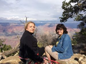 Linda and I at the Grand Canyon on 10/29/2015.